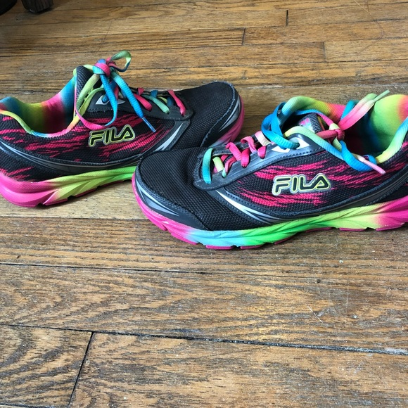 FILA Rainbow Sneakers